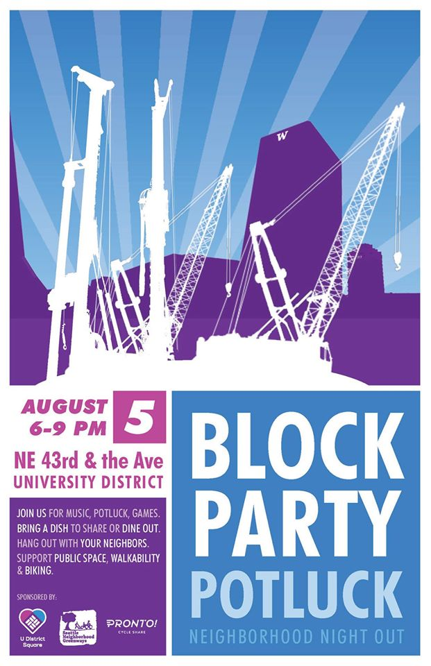 Block Party flier